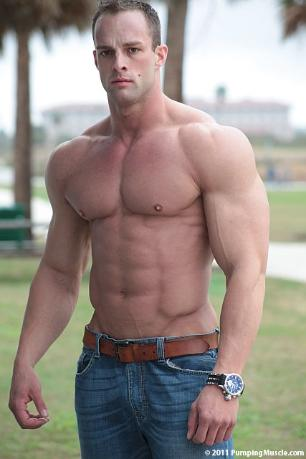 big and shredded coty reutzel is a 25 year old bodybuilder from