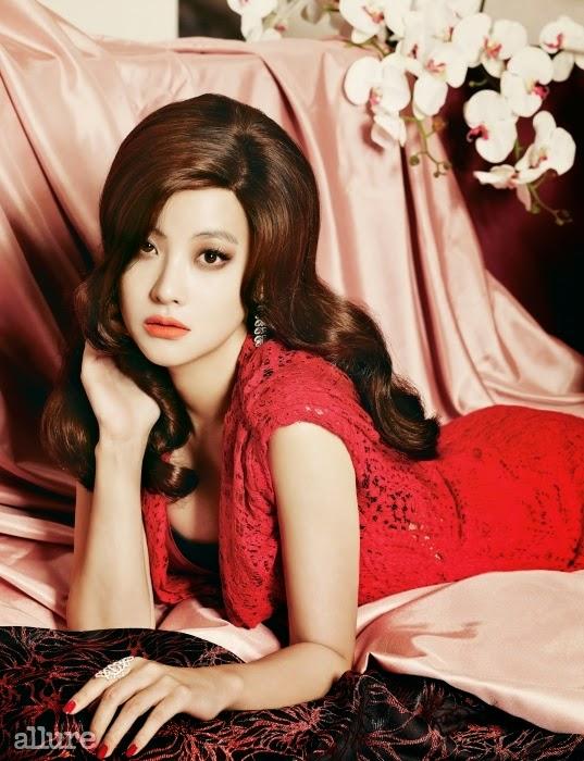 Oh Yeon Seo - Allure Magazine November Issue 2014