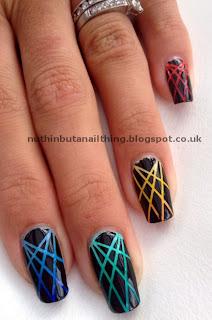 laser manicure nail art