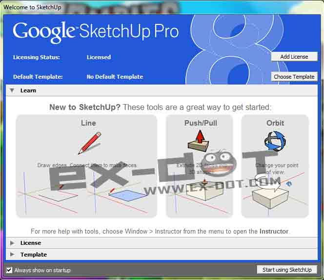 how to download google sketchup 8