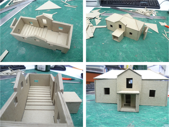 1083632612 model of school building made for tim ronalds for School project plan