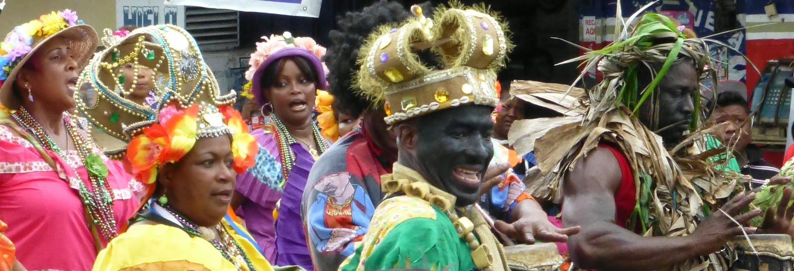 Dress up elements - The Festival However Gives Everyone The Chance To Dress Up And To Celebrate Their Heritage The Inhabitants The Congos Are Descended From Escaped Black