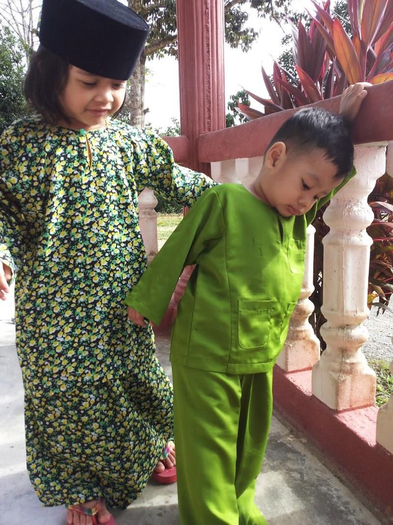 Dah 5 Syawal baru nak wish Selamat Hari Raya :)