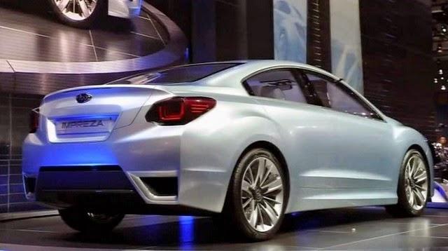 2017 Subaru Impreza Redesign