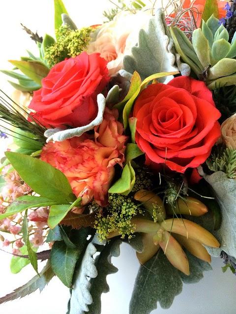 Bridal Flowers Blue Mountains : Blue mountain daisy a wedding bouquet