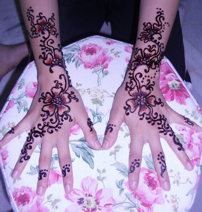 Tribal Batik Bunga Tattoo Pictures to Pin on Pinterest