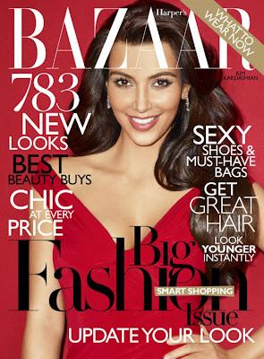 Kim Kardashian in Harper's Bazaar