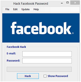 hacking facebook password