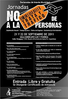 Jornadas No a la Trata y Tráfico de Personas