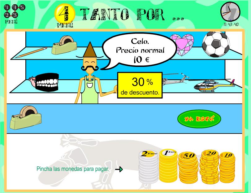 http://ntic.educacion.es/w3//recursos/primaria/matematicas/porcentajes/menuu4.html