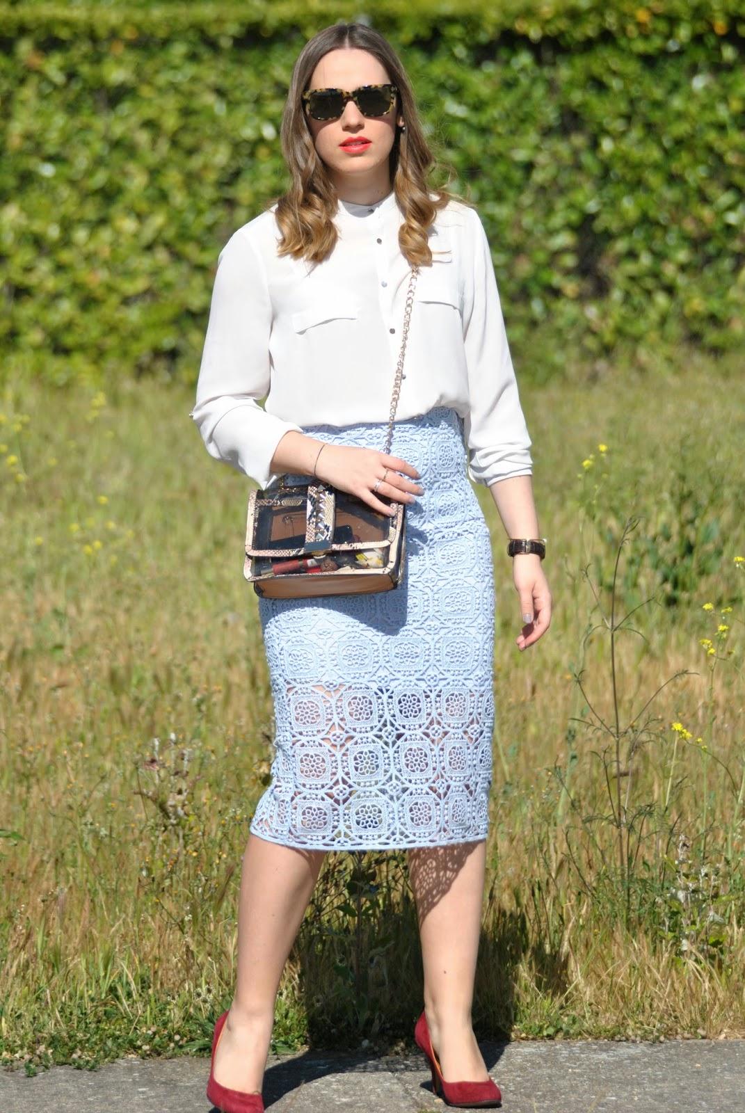 Sweet midi skirt