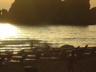 Corfù spiaggia mare