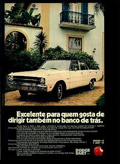 1971; os anos 70; história da década de 70; Brazil in the 70s; propaganda carros anos 70; Oswaldo Hernandez;