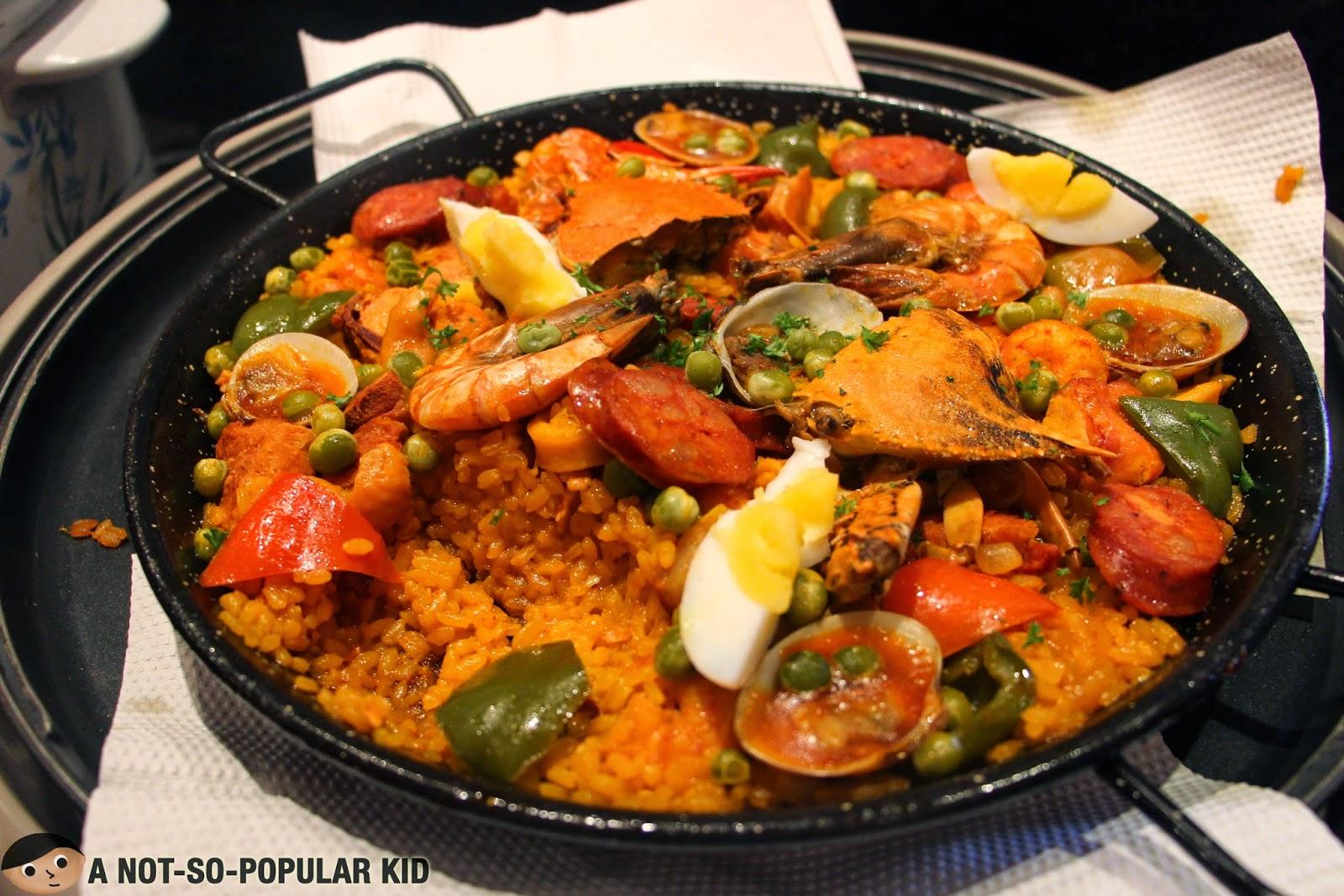 Paella Valenciana of Alba Restaurant