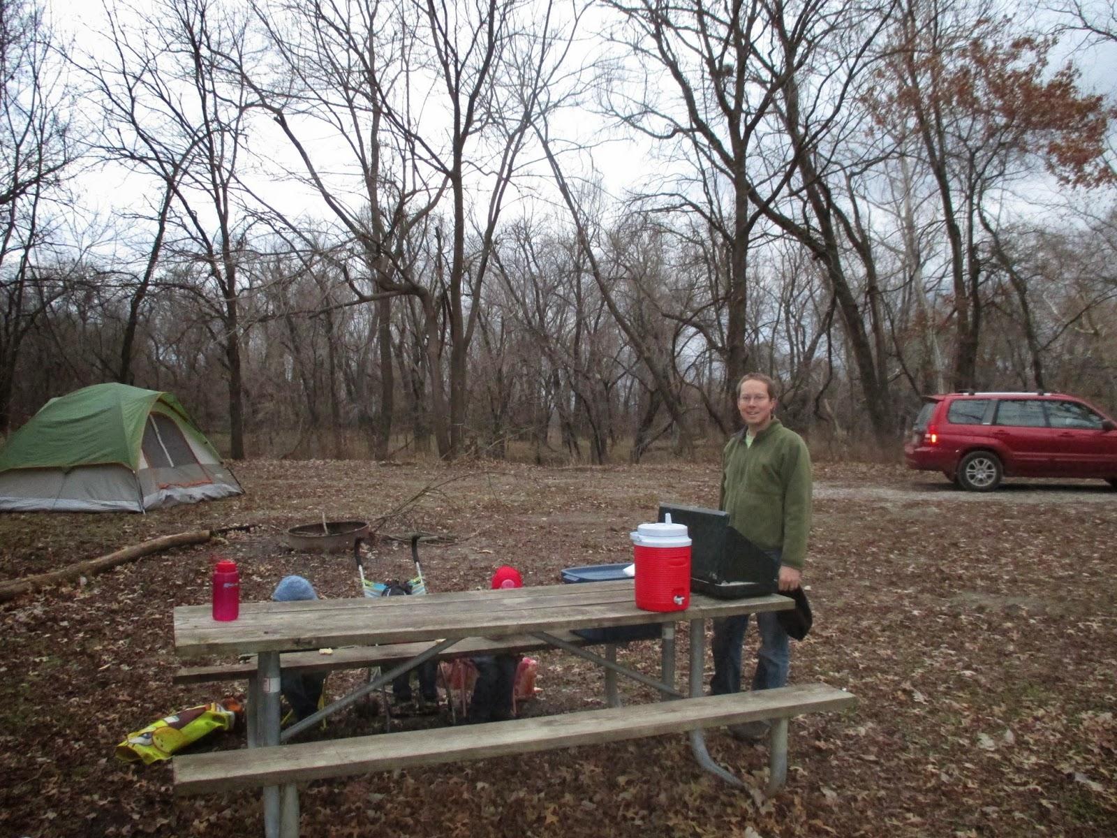 backyard excursions camping at marais des cygnes