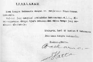 Kisah Detik - Detik Proklamasi Kemerdekaan Bangsa Indonesia