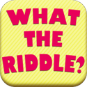 What The Riddle? HD App - Word Game Puzzle Apps - FreeApps.ws