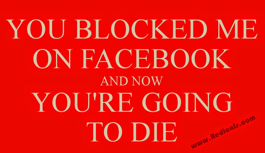 You Blocked Me On Facebook, Now You're Going To Die mp3