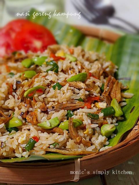 resep mudah nasi goreng kampung