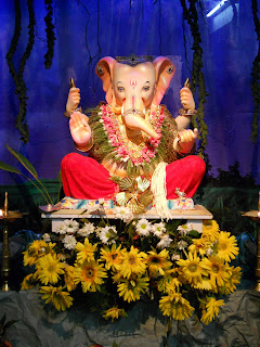 eco friendly ganpati decoration ideas