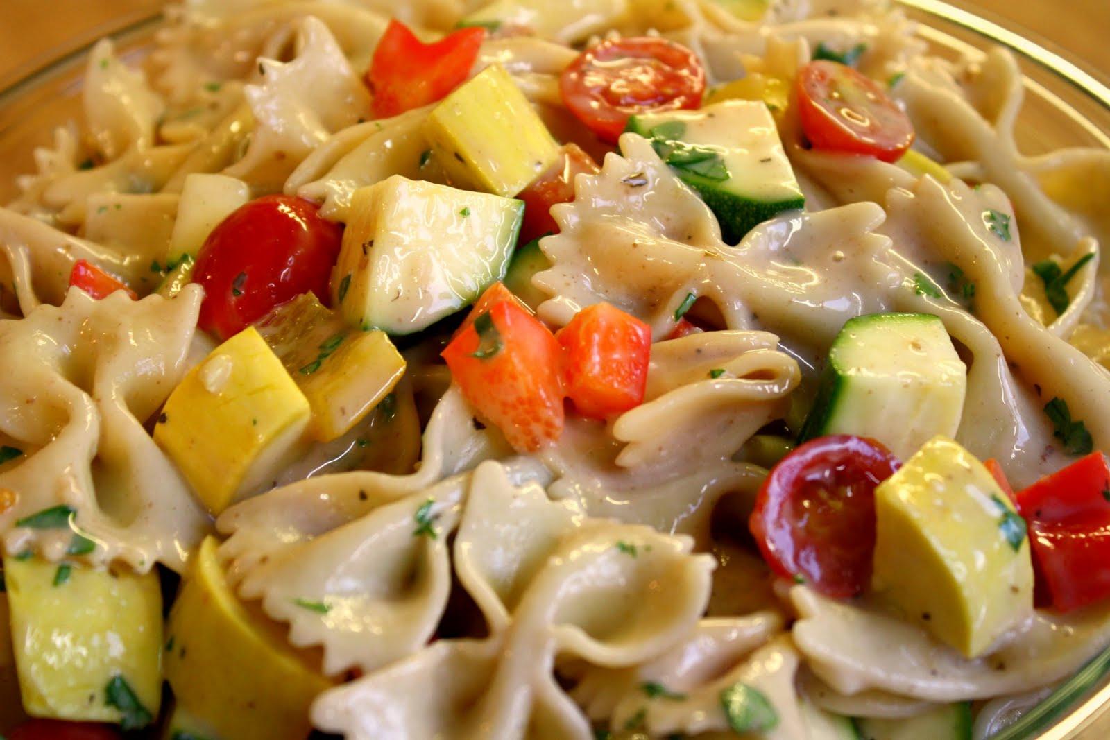 So Many Memories Bow Tie Pasta Salad