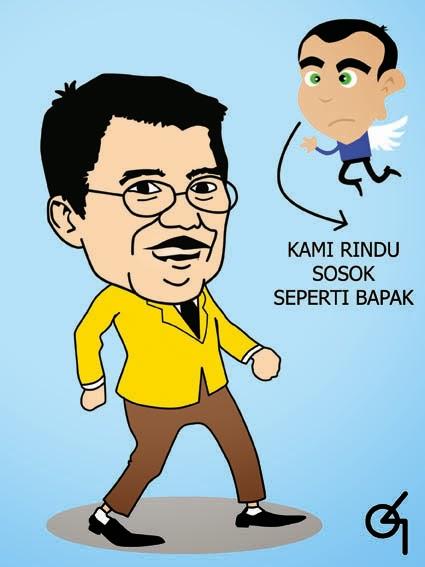 Gambar Karikatur Jusuf Kalla Kartun Lucu Terbaru