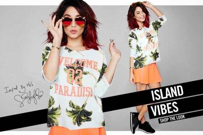 Bongo Spring/Summer 2015 Campaign featuring Vanessa Hudgens