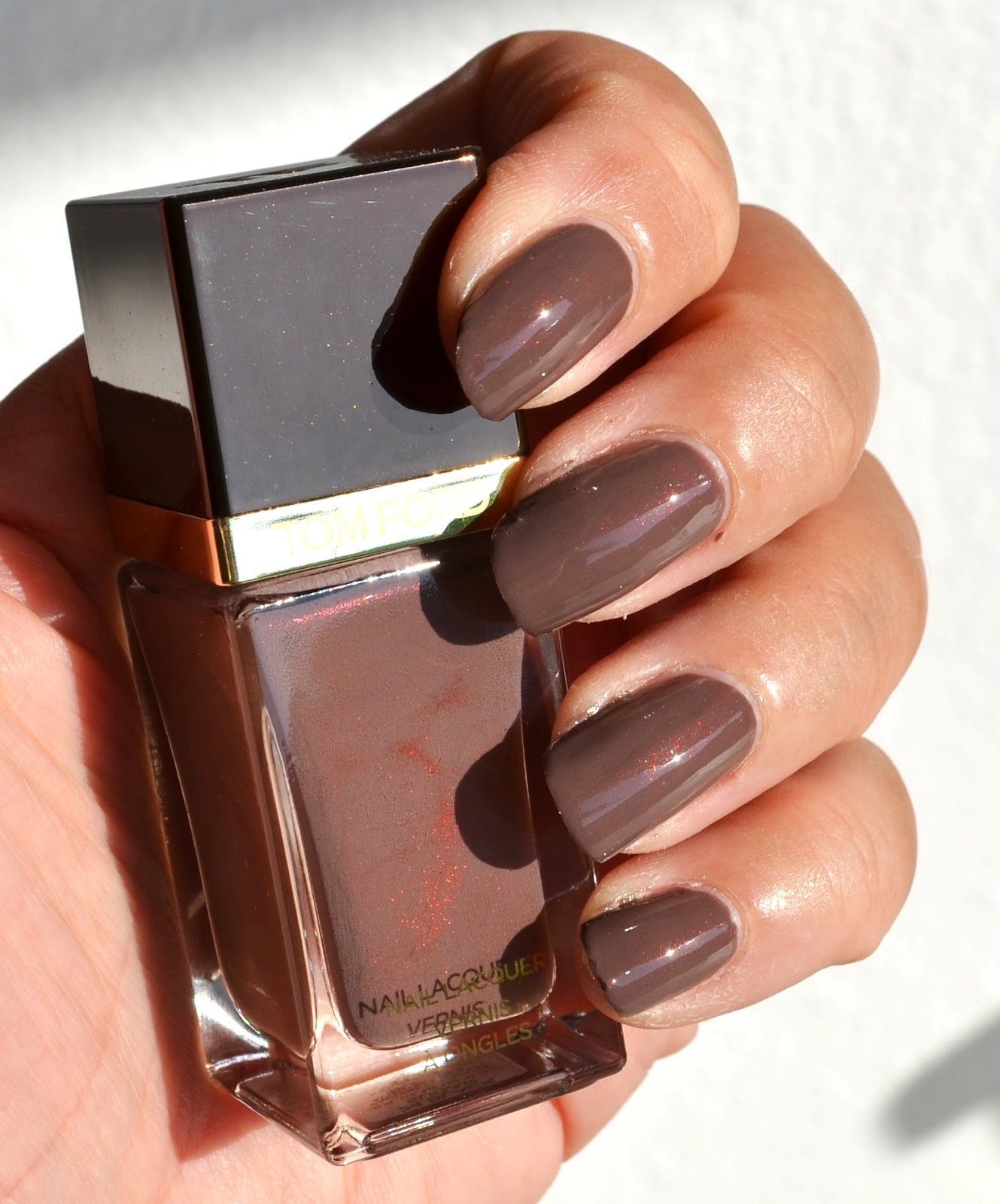 Tom Ford Nail Lacquer #24 Black Sugar, #25 Show Me The Pink from ...