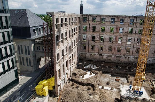 Baustelle Köln, Neue Direktion Köln, Konrad-Adenauer-Ufer 5, 50668 Köln, 31.05.2014