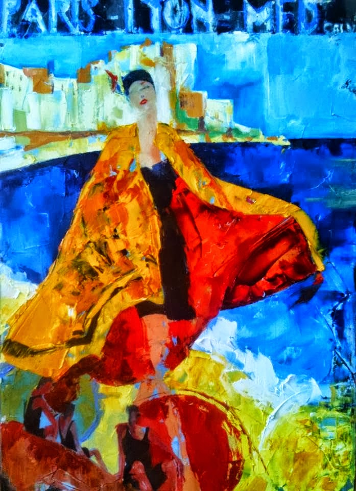 Fanny Nushka Moreaux |Abstract painter