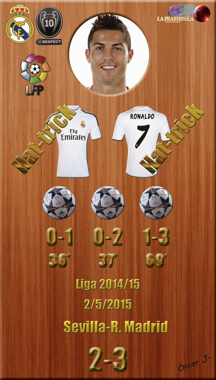 Sevilla 2 3 real madrid liga 2014 15 jornada 35 2 5 for Correo real madrid