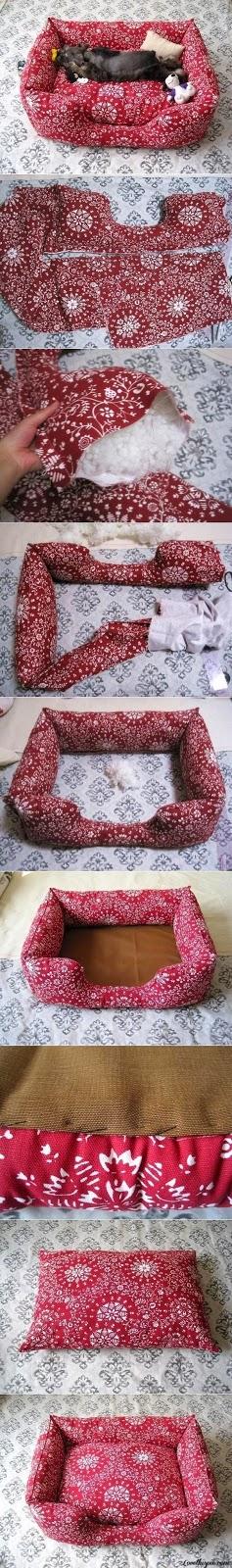 Come fare una cuccia per gatti di stoffa fai da te