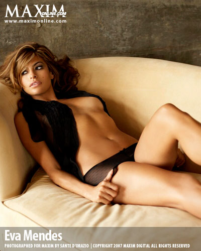 Eva Mendes Hot 100 Maxims 100 Hottest Girls of 2009