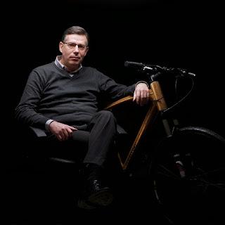 Bicicleta de Madera Sostenible, Vehiculos Ecoresponsables
