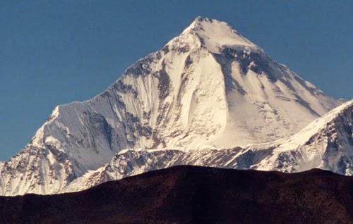 Dhaulagiri 8167m (26794ft) Nepal