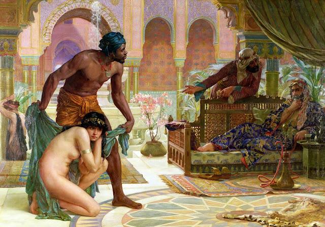 Slavery,orientalism,ernest normand