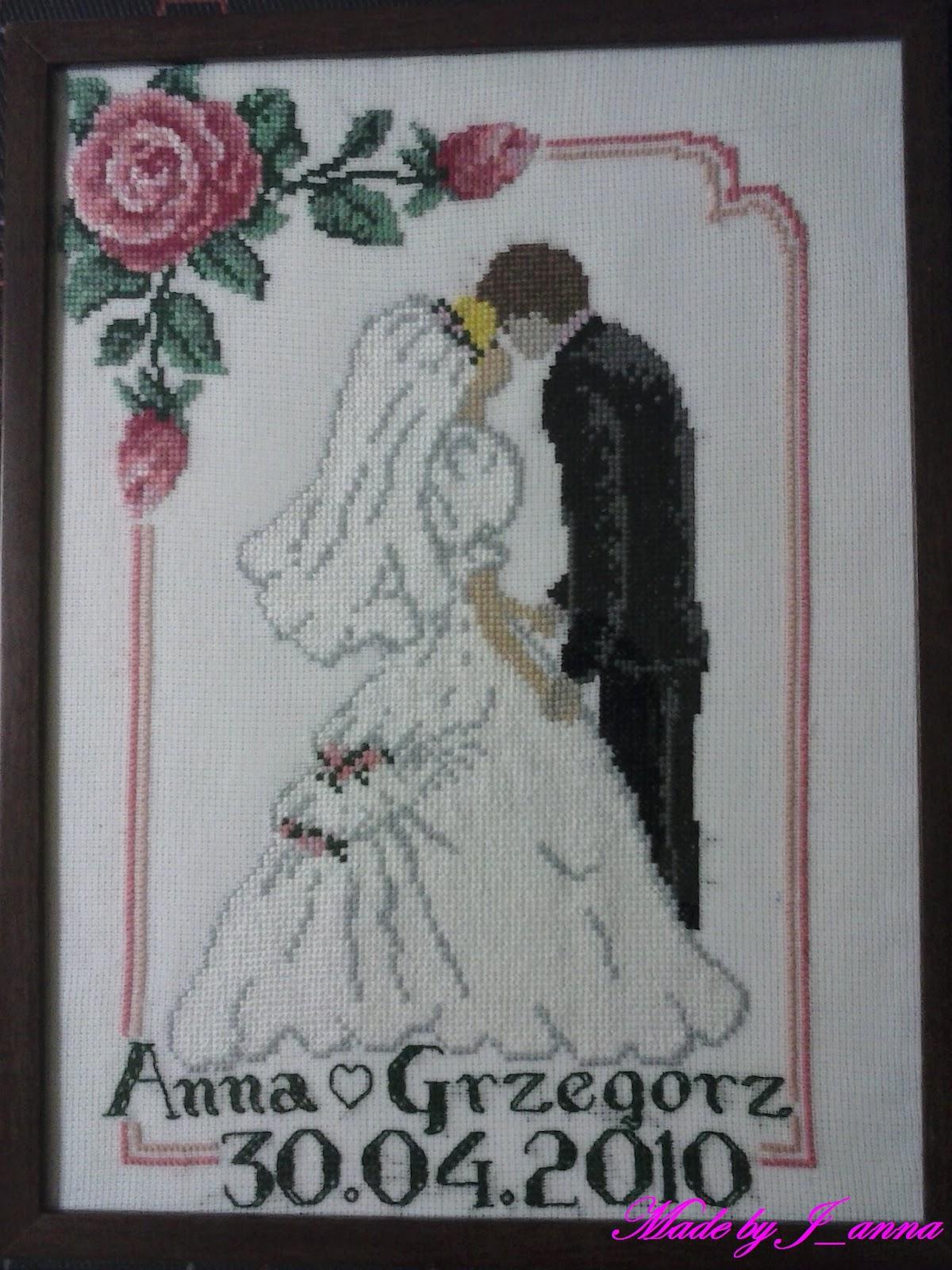 Pamiatka ślubna 1