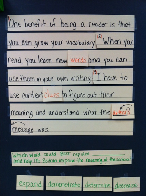 revising and editing strategies for staar