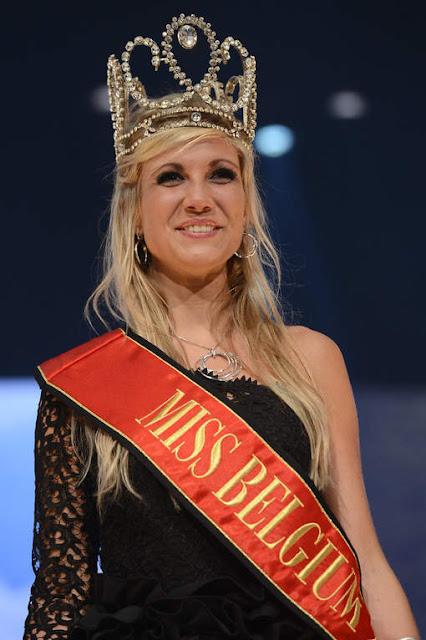 Miss Belgie Belgium 2013 winner Noemie Happart