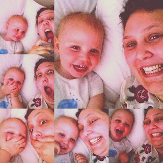 PippaD and Teddy are just the cutest taking Selfies!
