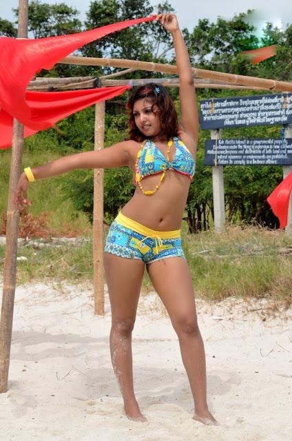 Komal Jha bikini photos