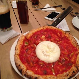 vietnam, otcb on tour, food, pizza, tomato, burrata