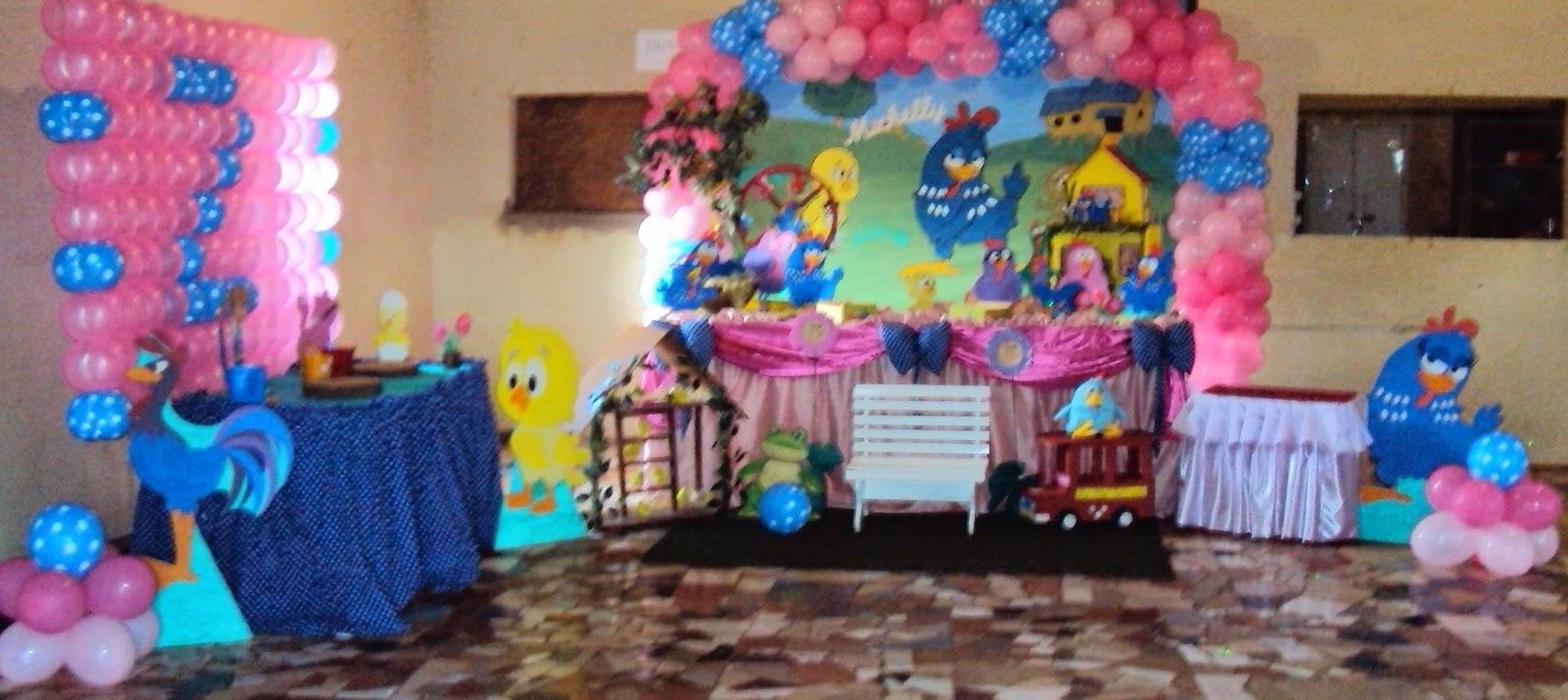 decoracao festa galinha pintadinha rosa: Tel:(67)3393-2873: Decoração Galinha Pintadinha Para Meninas Rosa