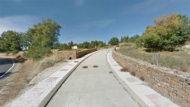 uno de los accesos a El Rincón de la condesa