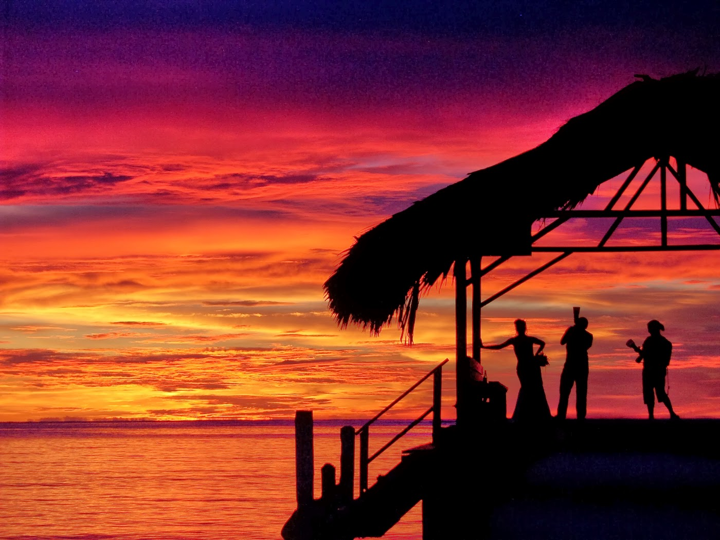 Sunset Wedding Photos: Sunset Wedding