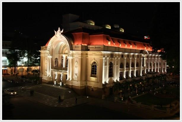 Opera house Saigon - Ho Chi Minh