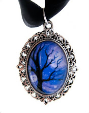 Winter Sky pendant necklace