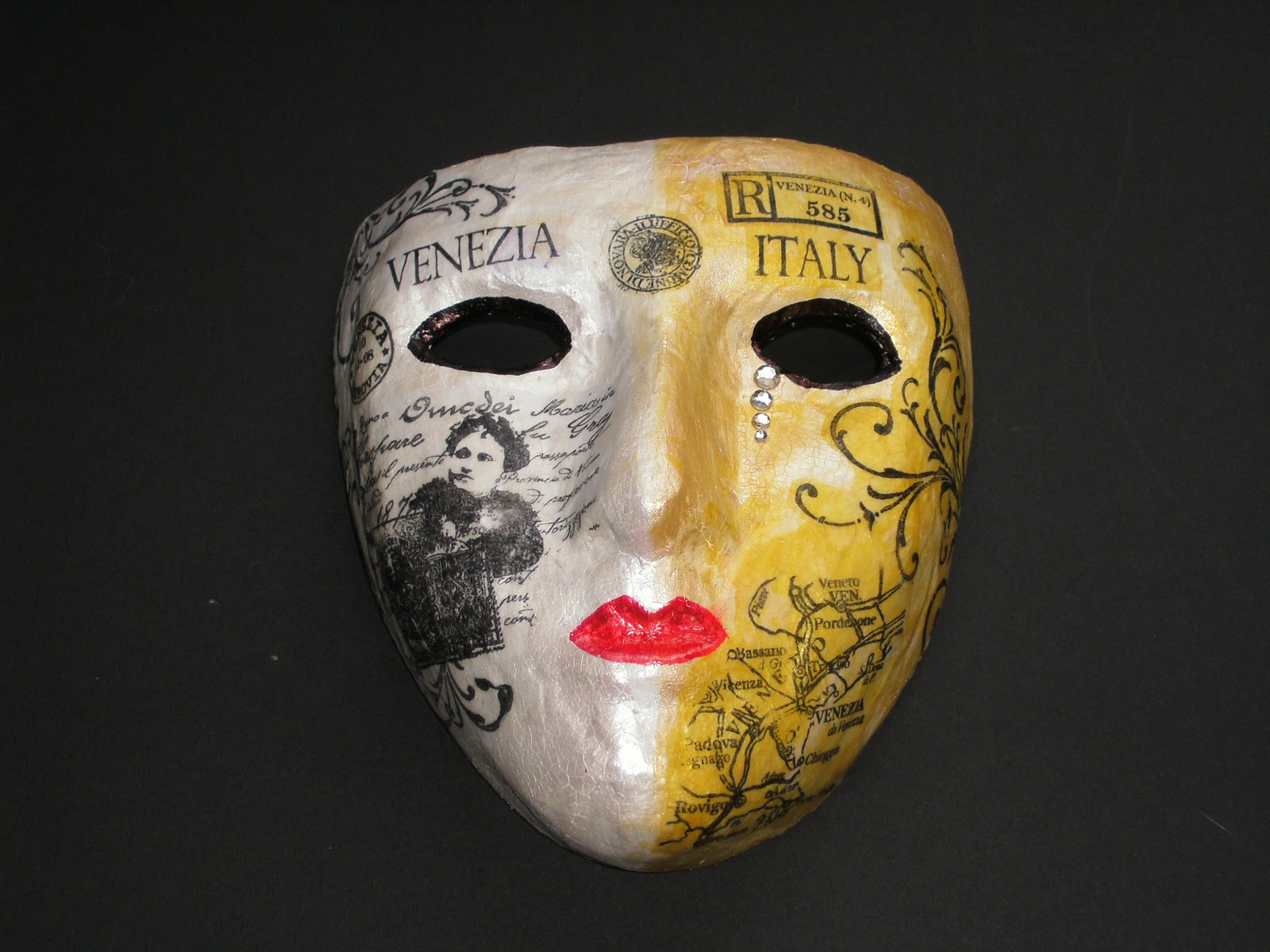 True Colours: Venice Papier Mache Mask
