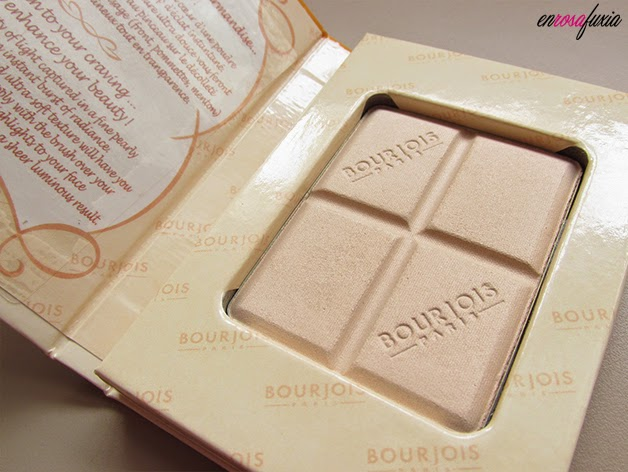 Polvos chocolate blanco bourjois