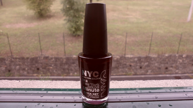 A rainy NOTD: NYC Lincoln Center